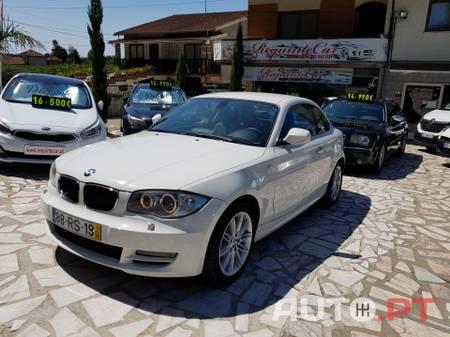 """BMW 118 D Coupé GPS PRO, Bi-Xenon, Pele, 17"""" M"""