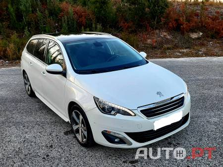 Peugeot 308 SW 1.6 HDI 120cv GT Line / Allure / Couro / Panorâmico