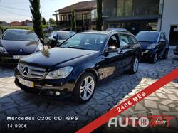 Mercedes-Benz C 200 Avantgard GPS/Manual/TEL