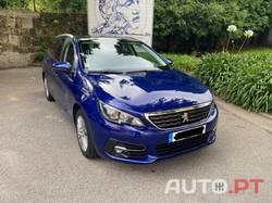 Peugeot 308 SW Allure Blue HDi J16