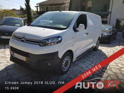 Citroen Jumpy 1.6 BlueHDi 3LUG. IVA Dedutível GPS