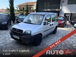 Fiat Doblo 1.3 JTD 5 Lugares /94€ Mês