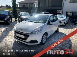 Peugeot 208 1.6 Blue-HDi 147€ Mês Sem Entrada