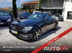 "Mercedes-Benz C 220 CDi Coupé AMG 19"" Butzi / Cx.Manual/ LED"