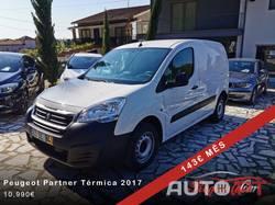 Peugeot Partner 3LUG. Térmica GPS/CAM IVA Dedutível 1.6 HDi 90CV