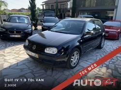 Volkswagen Golf 1.9 TDi 110cv 70€ Mês
