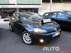 Volkswagen Golf VI 1.6 TDi DSG *SÓ 176€/MÊS FIXOS* 105cv Trendline *Caixa Automática 7 Velocidades* Nacional Diesel