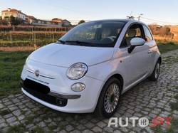 Fiat 500 1.2 lounch azul