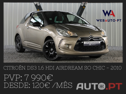 Citroen DS3 1.6 HDi Airdream So Chic