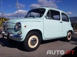 Fiat 600 D Teto de Abrir