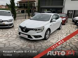 Renault Mégane 4 1.5 DCi Novo Modelo 181€ Mês