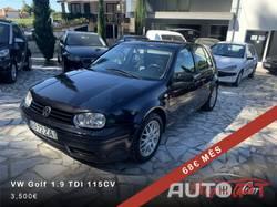 Volkswagen Golf 1.9 GT TDi 115cv Recaro/Tecto 68€ Mês