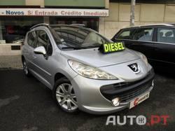 Peugeot 207 SW 1.6 HDi Sport *SÓ 156€/MÊS FIXOS* 2009 Apenas 114.000KMs Diesel Baixo Consumo