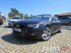 Audi A5 Cabrio 2.0 TDi S-Line (GPS)